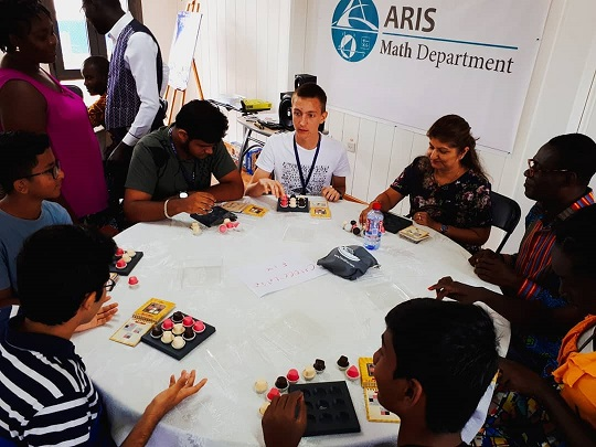 ARIS Hosts the Julia Robinson Mathematics Festival by MISE Foundation