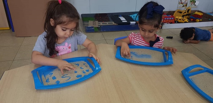 PYP Early Years Sensory Sand Tray
