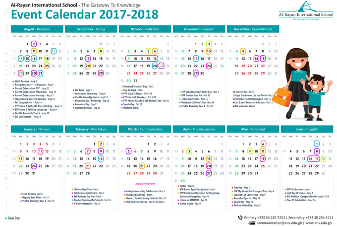 Aris  Calendar