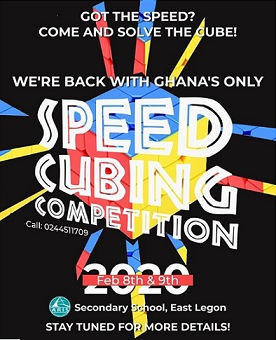 It's Official! - 2nd Edition of Ghana Speed Cubing Competition 2020!